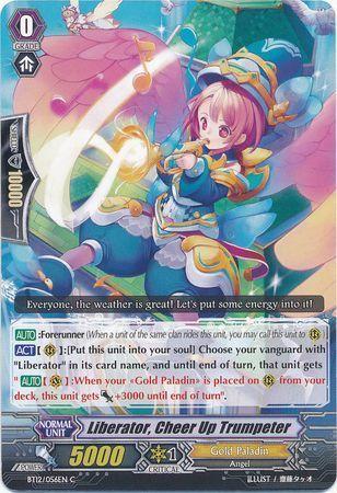 BT12/056EN (C) Liberator, Cheer Up Trumpeter