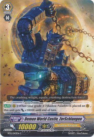 BT12/043EN (C) Demon World Castle, ZerSchlangen