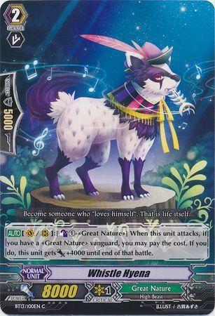 BT13/100EN (C) Whistle Hyena