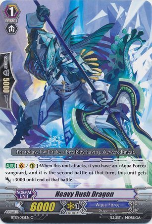 BT13/095EN (C) Heavy Rush Dragon