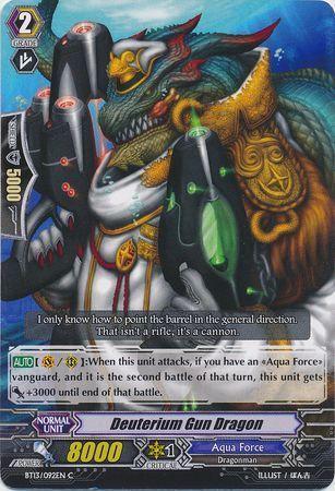BT13/092EN (C) Deuterium Gun Dragon