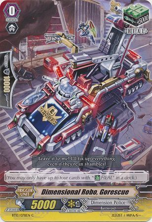 BT13/078EN (C) Dimensional Robo, Gorescue