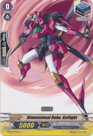 BT13/077EN (C) Dimensional Robo, Goflight