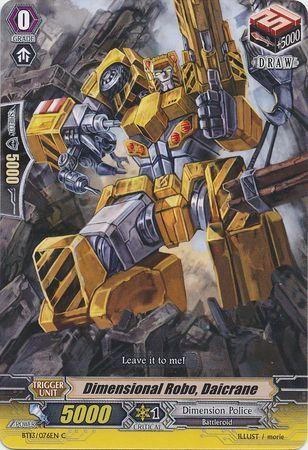 BT13/076EN (C) Dimensional Robo, Daicrane