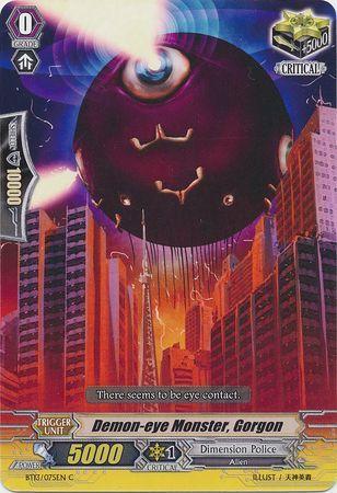BT13/075EN (C) Demon-eye Monster, Gorgon