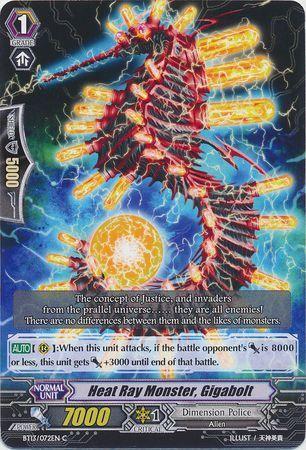 BT13/072EN (C) Heat Ray Monster, Gigabolt