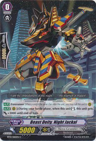 BT13/065EN (C) Beast Deity, Night Jackal
