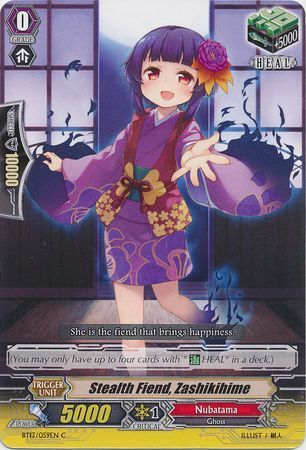 BT13/059EN (C) Stealth Fiend, Zashikihime