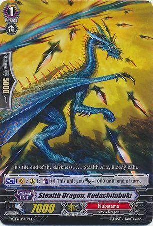 BT13/054EN (C) Stealth Dragon, Kodachifubuki