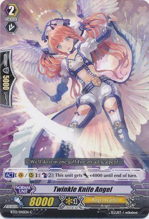 BT13/045EN (C) Twinkle Knife Angel