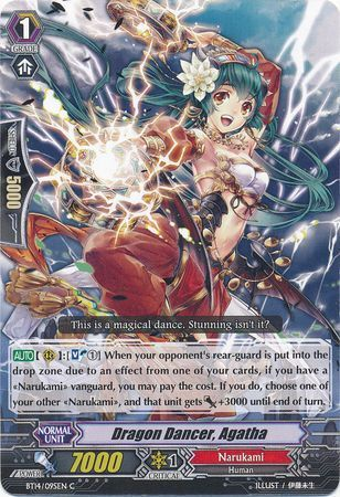 BT14/095EN (C) Dragon Dancer, Agatha