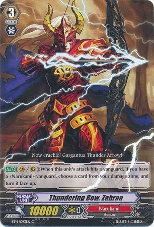 BT14/093EN (C) Thundering Bow, Zahraa