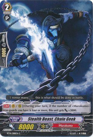 BT14/088EN (C) Stealth Beast, Chain Geek