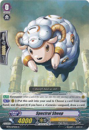 BT14/075EN (C) Spectral Sheep