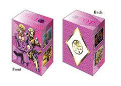 """Deck Holder Collection V2 """"JoJo's Bizarre Adventure: Golden Wind (Giorno Giovanna)"""" Vol.810 by Bushiroad"""