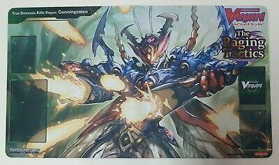 "Cardfight!! Vanguard Rubber Mat ""The Raging Tactics (True Demonic Rifle Rogue, Gunningcoleo)"" by Bushiroad"