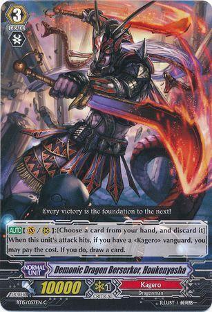 BT15/057EN (C) Demonic Dragon Berserker, Houkenyasha