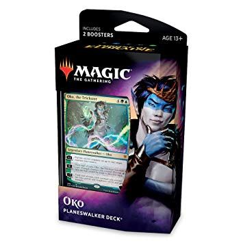 """Magic the Gathering Planeswalker Deck """"OKO: The Trickster"""""""