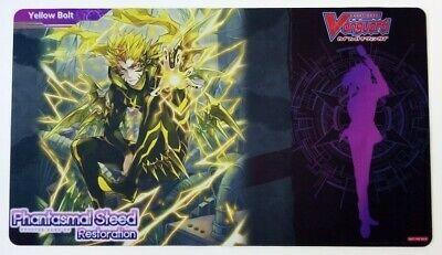 "Cardfight!! Vanguard Rubber Mat ""Phantasmal Steed Restoration (Yellow Bolt)"" by Bushiroad"