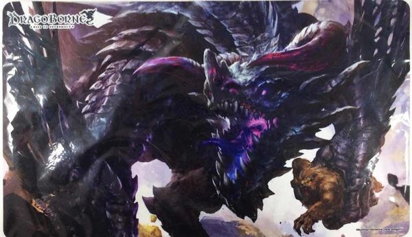 "Dragoborne Rubber Mat ""Oath of Blood (Sennes, Lord of the Rampage)"" by Bushiroad"