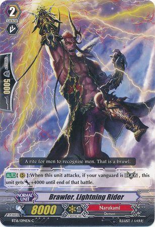 BT16/094EN (C) Brawler, Lightning Rider