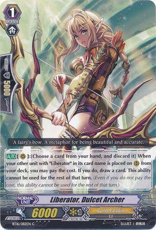 BT16/082EN (C) Liberator, Dulcet Archer