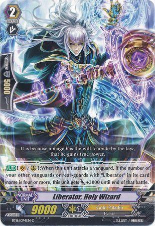 BT16/074EN (C) Liberator, Holy Wizard