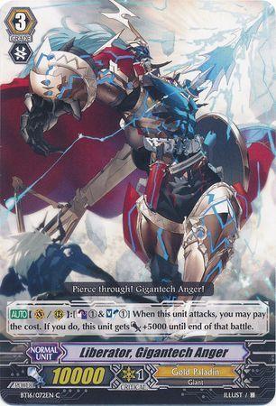 BT16/072EN (C) Liberator, Gigantech Anger