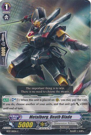 BT17/110EN (C) Metalborg, Death Blade