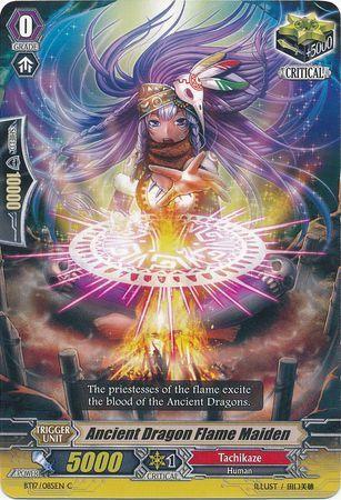 BT17/085EN (C) Ancient Dragon Flame Maiden