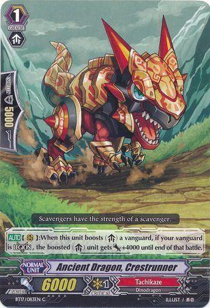 BT17/083EN (C) Ancient Dragon, Crestrunner