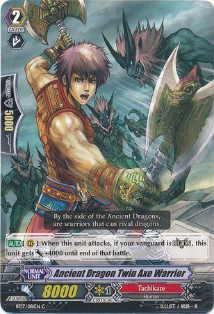 BT17/081EN (C) Ancient Dragon, Twin Axe Warrior