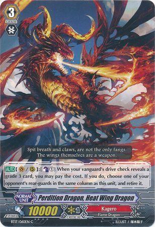 BT17/060EN (C) Perdition Dragon, Heat Wing Dragon