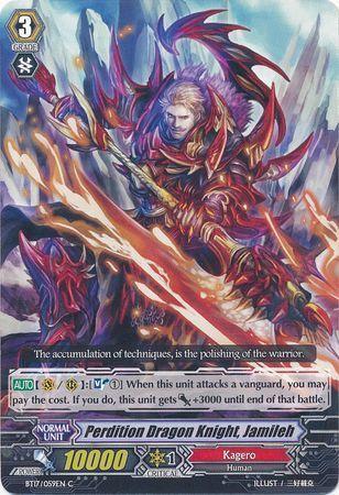 BT17/059EN (C) Perdition Dragon Knight, Jamileh