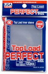 KMC Sleeves Top Load Perfect Size (Standard Size)