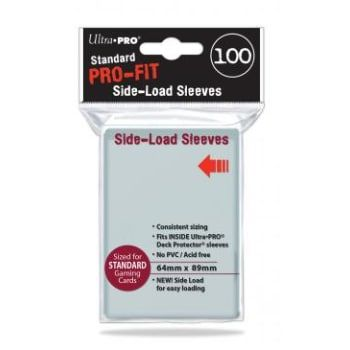 Standard Pro-Fit Side-Load Sleeves (Standard Size) by Ultra Pro