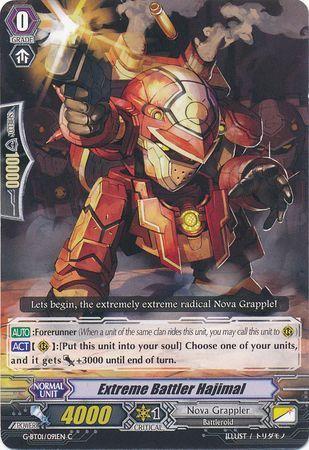 G-BT01/091EN (C) Extreme Battler Hajimal