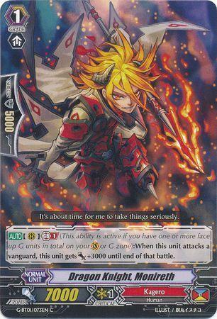 G-BT01/073EN (C) Dragon Knight, Monireth