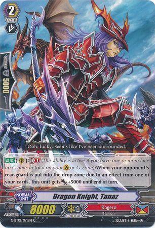 G-BT01/071EN (C) Dragon Knight, Tanaz