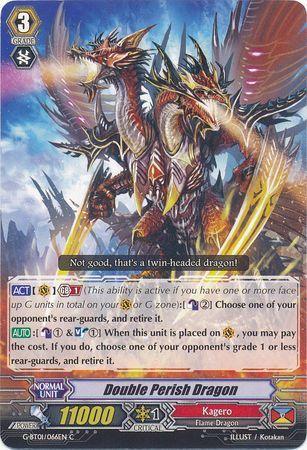 G-BT01/066EN (C) Double Perish Dragon