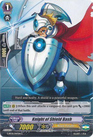 G-BT01/047EN (C) Knight of Shield Bash