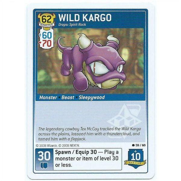Maple Story iTCG - 59/60 Wild Kargo