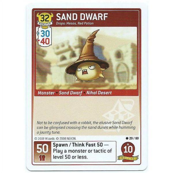 Maple Story iTCG - 29/60 Sand Dwarf