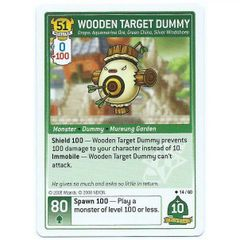 Maple Story iTCG - 14/60 Wooden Target Dummy