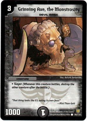 DM-06 60/110 (C) Grinning Axe, the Monstrosity