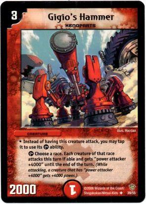 DM-09 39/55 (U) Gigio's Hammer