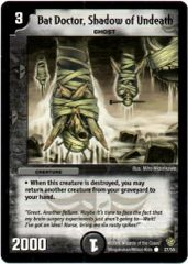 DM-09 27/55 (C) Bat Doctor, Shadow of Undeath