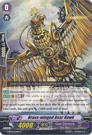 G-BT02/067EN (C) Brass-winged Gear Hawk