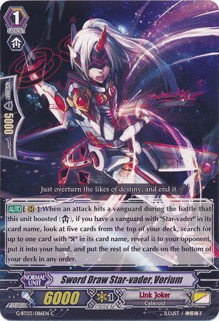 G-BT03/086EN (C) Sword Draw Star-vader, Vorium