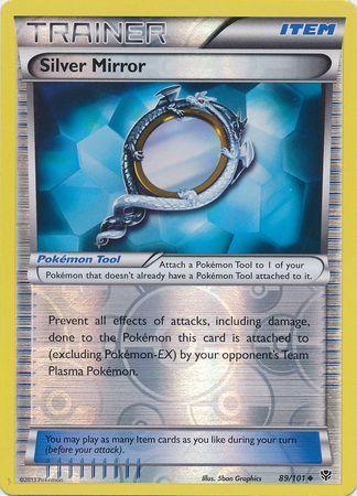 89/101 (U) Silver Mirror - Reverse Foil